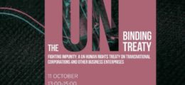 Event Binding Treaty EP October 2018